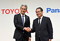 Toyota and Panasonic announce joint company