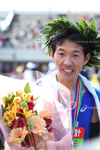 Masahiro Okamura, <br /> FEBRUARY 7, 2016 - Marathon : <br /> The 65th Beppu Oita Mainichi Marathon<br /> in Oita, Japan. <br /> (Photo by Yohei Osada/AFLO SPORT)