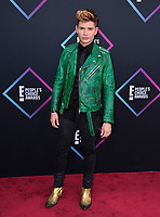 LOS ANGELES, CA. November 11, 2018: Christian Acosta at the E! People's Choice Awards 2018 at Barker Hangar, Santa Monica Airport.<br /> Picture: Paul Smith/Featureflash