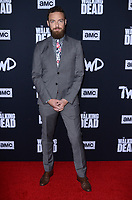"LOS ANGELES - SEP 23:  Ross Marquand at the ""The Walking Dead"" Season 10 Premiere Event at the TCL Chinese Theater on September 23, 2019 in Los Angeles, CA"