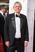 London, UK. 8 May 2016. Actor Tom Courtenay.  Red carpet  celebrity arrivals for the House Of Fraser British Academy Television Awards at the Royal Festival Hall.