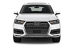 Car photography straight front view of a 2017 Audi Q7 Premium  5 Door SUV