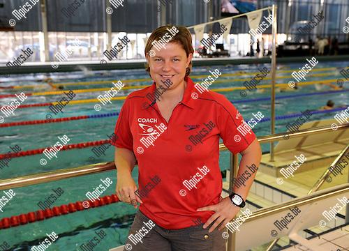 2012-01-15 / Zwemmen / seizoen 2011-2012 / Brigitte Becue..Foto: Mpics.be