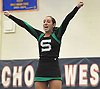 Anna Gagliano and the Seaford varsity cheerleaders perform during an invitational competition held at Smithtown High School West on Saturday, Dec. 17, 2016.
