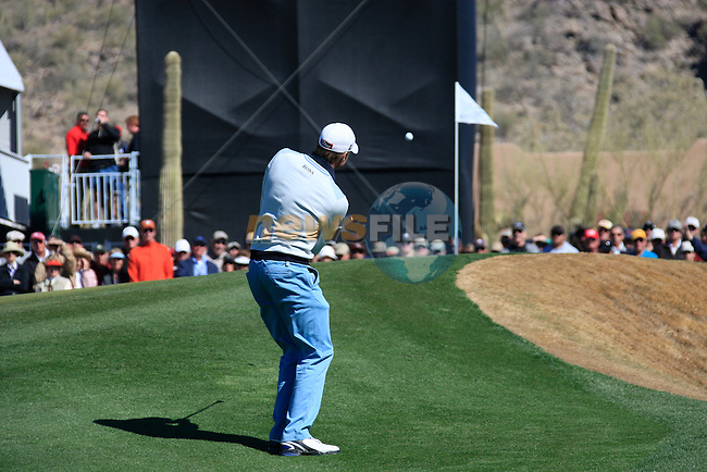 Mark Wilson (USA) in action on the 13th hole during Day 2 of the Accenture Match Play Championship from The Ritz-Carlton Golf Club, Dove Mountain, Thursday 24th February 2011. (Photo Eoin Clarke/golffile.ie)