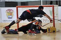 CARTAGENA - COLOMBIA 2013: Campeonato Mundial de Hockey SP que se realiza del 6 al 12 de octubre, en el  en el Coliseo de Combate y Gimnaia en la ciudad de Cartagena.  World Championship Hockey SP to be held from 6 to 12 October, at theCombate and Gimnasia Coliseum in Cartagena.  (Photos: VizzorImage / Luis Ramirez / Staff).