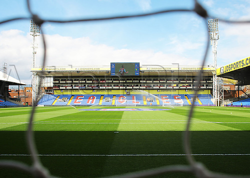 09.04.2016. Selhurst Park, London, England. Barclays Premier League. Crystal Palace versus Norwich. The sun shines on Selhurst Park