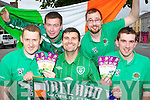Its going to be a rocky road from Castleisland to Poland for football fans James O'Donoghue, Connie O'Rourke, Dan Maunsell, John Lyons and Billy Cronin who are heading off to Poland to support the Republic of Ireland Soccer team at the European Championships next week