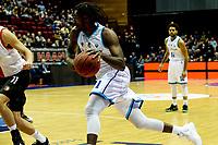GRONINGEN - Basketbal, Donar - Feyenoord, Eredivisie, seizoen 2019-2020, 10-11-2019, Donar speler Donte Thomas