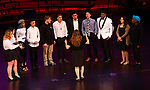 WATERBURY,  CT-052019JS11- Members of the Kennedy High School a cappella singing group, sing &quot;Wade in the Water&quot; during the Waterbury Public School's Celebration Community Through the Arts II district-wide talent show held Monday at the Palace Theater in Waterbury. <br /> Jim Shannon Republican American