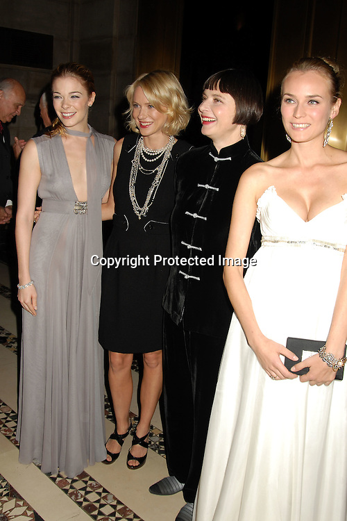 LeAnn Rimes, Naomi Watts, Isabella Rossellini and Diane Kruger..at The 7th Annual New Yorkers for Children Fall Gala ..on September 21, 2006 at Cipriani 42nd Street. ..Robin Platzer, Twin Images