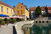 Old mill pond - Tapolca, Balaton, Hungary