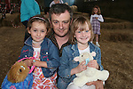 Stephanie, David and Rachelle Molloy at the Teddy Bears Picnic at Newgrange Farm...Photo NEWSFILE/Jenny Matthews.(Photo credit should read Jenny Matthews/NEWSFILE)....This Picture has been sent you under the condtions enclosed by:.Newsfile Ltd..The Studio,.Millmount Abbey,.Drogheda,.Co Meath..Ireland..Tel: +353(0)41-9871240.Fax: +353(0)41-9871260.GSM: +353(0)86-2500958.email: pictures@newsfile.ie.www.newsfile.ie.FTP: 193.120.102.198.