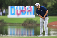 Kurt Kitayama (USA) during the first round of the DP World Championship, Earth Course, Jumeirah Golf Estates, Dubai, UAE. 21/11/2019<br /> Picture: Golffile | Phil INGLIS<br /> <br /> <br /> All photo usage must carry mandatory copyright credit (© Golffile | Phil INGLIS)