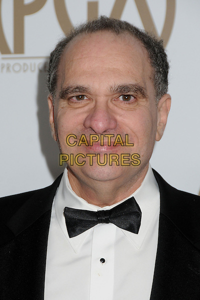 Bob Weinstein.At the 24th Annual Producers Guild Awards held at the Beverly Hilton Hotel, Beverly Hills, California, USA, .26th January 2013..PGAs PGA  portrait headshot black bow tie white shirt .CAP/ADM/BP.©Byron Purvis/AdMedia/Capital Pictures.