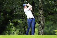 Paul Reavey (Warrenpoint) during the final  of the Ulster Mixed Foursomes at Killymoon Golf Club, Belfast, Northern Ireland. 26/08/2017<br /> Picture: Fran Caffrey / Golffile<br /> <br /> All photo usage must carry mandatory copyright credit (&copy; Golffile   Fran Caffrey)