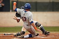 SAN ANTONIO, TX - APRIL 13, 2012: The University of Texas at Arlington Mavericks vs. The University of Texas at San Antonio Roadrunners Baseball at Roadrunner Field. (Photo by Jeff Huehn)