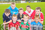 Enjoying the Kilcummin GAA family fun day on Sunday was front row l-r: Patrick Daly, Liam Kerrisk, Micheál Sweeney. Back row: Cillian O'Brien, Cian O'Mahony, Evan Murphy, Darragh Kennedy and Tiernan Roarty