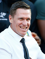 Jean de Villiers Supersport rugby commentator during the Super rugby match between the Cell C Sharks and the Emirates Lions at Jonsson Kings Park Stadium in Durban, South Africa 30 March 2019. Photo: Steve Haag / stevehaagsports.com