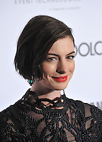 Anne Hathaway at the 28th Annual American Cinematheque Award Gala honoring Matthew McConaughey at the Beverly Hilton Hotel.<br /> October 21, 2014  Beverly Hills, CA<br /> Picture: Paul Smith / Featureflash