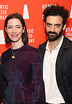 Rebecca Hall and Morgan Spector attends the Opening Night of the Atlantic Theater Company's New York Premier play 'Animal' at Jake's Saloon on June 6, 2017 in New York City.