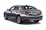 Car pictures of rear three quarter view of 2016-2017 Acura ilx Tech Plus A Spec 4 Door Sedan angular rear