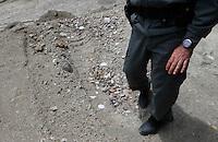 Smaltimento illecito di rifiuti in alcune cave e cementifici<br /> 14 gli arresti in Campania <br /> nelle foto la cava San Severino posta sotto sequestro
