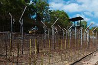 Barbwire in Coconut Prison, Phuquoc, Vietnam