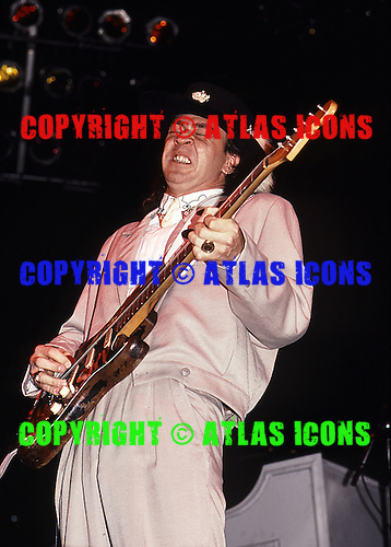 Stevie Ray Vaughan: Live: New York City: May 20, 1988:.Photo Credit: Eddie Malluk/Atlas Icons.com
