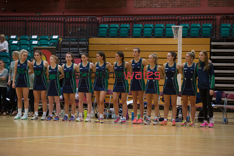 Netball World Youth Cup Qualifier 2016<br /> Northern Ireland v Scotland<br /> 09.10.16<br /> Steve Pope ©Sportingwales