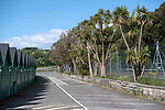Swansea, UK, 11th May 2020.<br />Empty car park at Langland Bay near Swansea this morning as the devolved Welsh government continue to ask people in Wales to stay at home due to the Coronavirus pandemic.