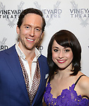 Clifton Samuels and Sara Esty attends the Opening Night Performance Celebration for  'The Beast In The Jungle' at The Vineyard Theatre on May 23, 2018 in New York City.