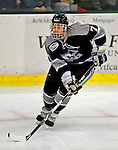 7 February 2009: Providence College Friars' defenseman Eric Baier, a Sophomore from North Kingstown, R.I., in action against the University of Vermont Catamounts during the second game of a weekend series at Gutterson Fieldhouse in Burlington, Vermont. The Catamounts swept the 2-game series notching 4-1 wins in both games. Mandatory Photo Credit: Ed Wolfstein Photo