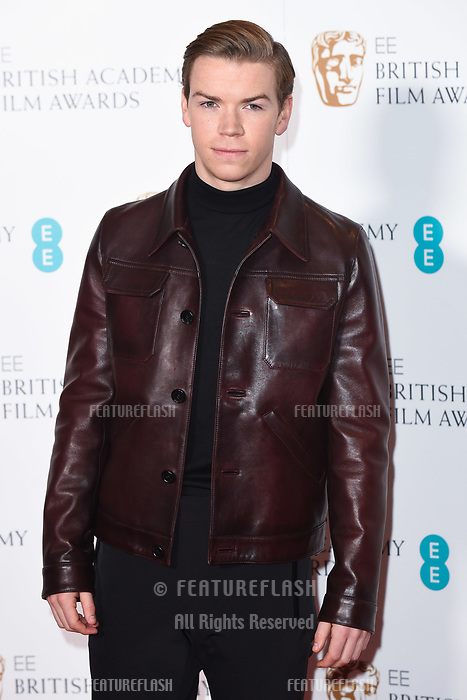 LONDON, UK. January 09, 2019: Will Poulter at the announcement of the nominations for the BAFTA Film Awards 2019 London.<br /> Picture: Steve Vas/Featureflash