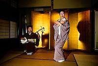 Geishas performing, Yamanaka Onsen (Yamanaka Hot Springs), Japan