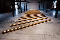 Italy, Venice. Venice Biennale at Arsenale di Venezia.