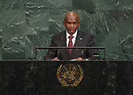 72 General Debate &ndash; 23rd of September  2017<br /> <br /> H.E. Alain Aim&yuml; NYAMITWE<br /> Minister for foreign Affairs and<br /> International Cooperation of<br /> BURUNDI