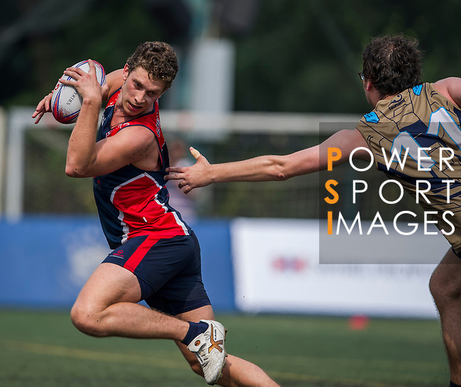 Veolia Environment vs Holman Fenwick Willan during the Swire Properties Touch Tournament at Kowloon King's Park Sports Ground on 13 July 2013 in Hong Kong, China. Photo by Victor Fraile / The Power of Sport Images