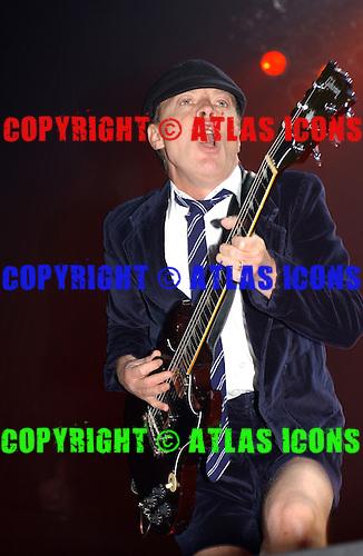 AC/DC ; Live, In New York City ; On 3-12-2003 ; .Photo Credit: Eddie Malluk/Atlas Icons.com