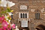 Palazzo della Ragione, the 12th century palace and town hall on Piazza Vecchia in Bergamo, Italy