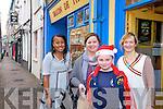 Keeping it local in Cahersiveen for 2011 were l-r Barbra O'Connor, Jackie Greene, Harvey Greene & Dany O'Leary.