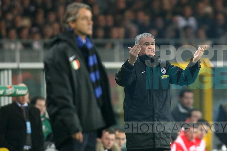 Claudio Ranieri manager of Juventus