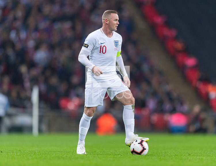 London, England - November 15, 2018:  England defeated the USMNT 3-0 at Wembley Stadium.