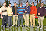 GOLF: Members of the Listowel golf team who took part in The County Clubs Competition at Ardfert Golf Club on Saturday morning were l-r: Ger Foley, Eamonn Fitzmaurice, Patrick O'Sullivan, John Walsh, Mike Broderick, Brendan Stack and Colm O'Callaghan..   Copyright Kerry's Eye 2008