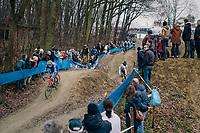 STYBAR Zdeněk (CZE/Deceuninck-Quick Step) coming down the dirt jump descent<br /> <br /> GP Sven Nys (BEL) 2019<br /> DVV Trofee<br /> &copy;kramon