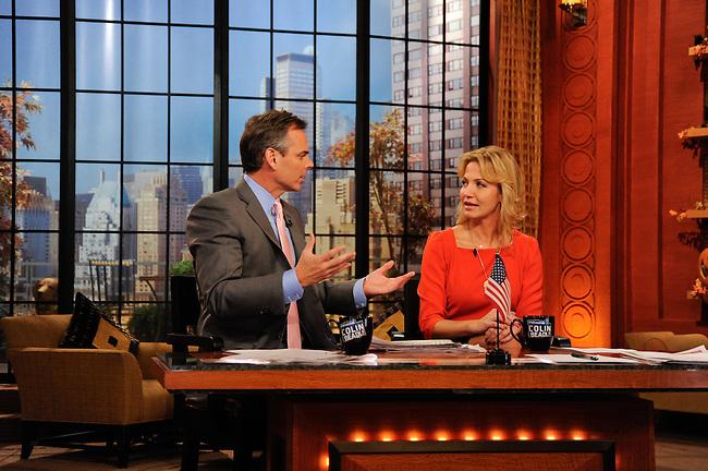"ESPN - ""Sportsnation"" visits the ""Live with Regis and Kelly"" set, 10/31/11..(ESPN/ Donna Svennevik)"