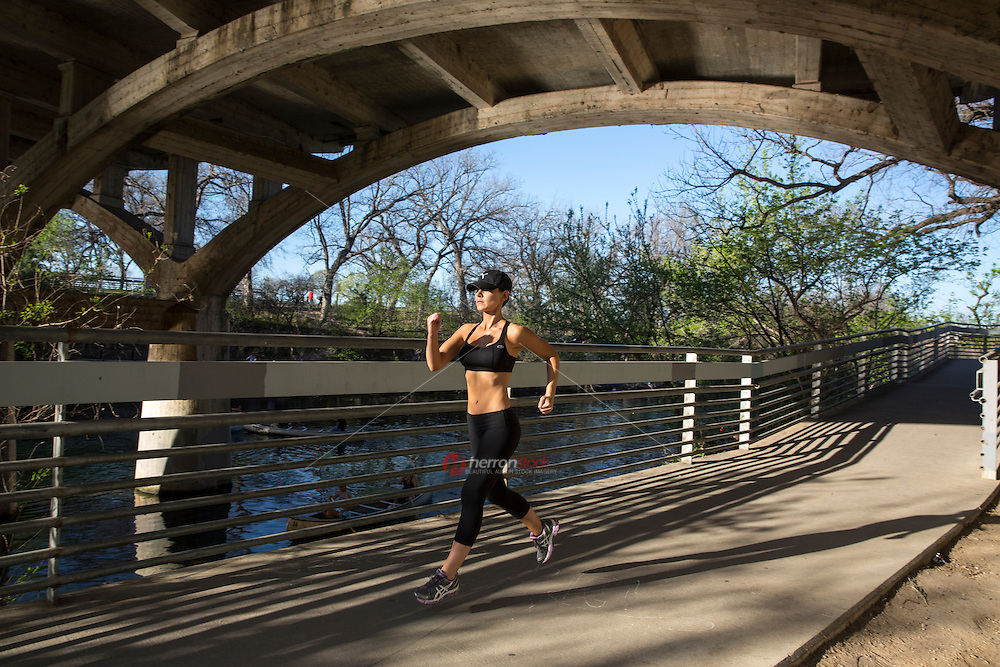 The Lady Bird Lake Hike and Bike Trail, a runner's treasure, came to life during the 1970s thanks to a unique public-private civic effort led by Lady Bird Johnson.