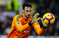 Fulham's Sergio Rico<br /> <br /> Photographer Alex Dodd/CameraSport<br /> <br /> The Premier League - Burnley v Fulham - Saturday 12th January 2019 - Turf Moor - Burnley<br /> <br /> World Copyright © 2019 CameraSport. All rights reserved. 43 Linden Ave. Countesthorpe. Leicester. England. LE8 5PG - Tel: +44 (0) 116 277 4147 - admin@camerasport.com - www.camerasport.com