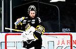 Stockholm 2014-09-27 Ishockey Hockeyallsvenskan AIK - Mora IK :  <br /> AIK:s m&aring;lvakt Alexander Hamberg <br /> (Foto: Kenta J&ouml;nsson) Nyckelord:  AIK Gnaget Hockeyallsvenskan Allsvenskan Hovet Johanneshovs Isstadion Mora MIK portr&auml;tt portrait