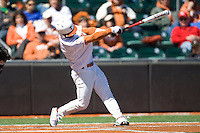 Texas Longhorn Jordan Eiter against Nebraska on Sunday March 21st, 2100 at UFCU Dish-Falk Field in Austin, Texas.  (Photo by Andrew Woolley / Four Seam Images)